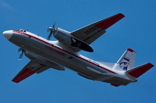 Самолет Чукотавиа